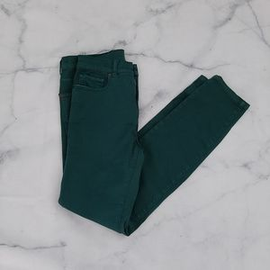 BDG High Rise Cigarette Ankle Jeans Green